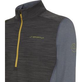 La Sportiva Rook Langarmshirt Herren carbon/kiwi